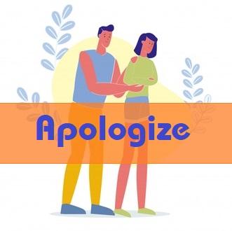 Cách dùng apologize trong tiếng anh